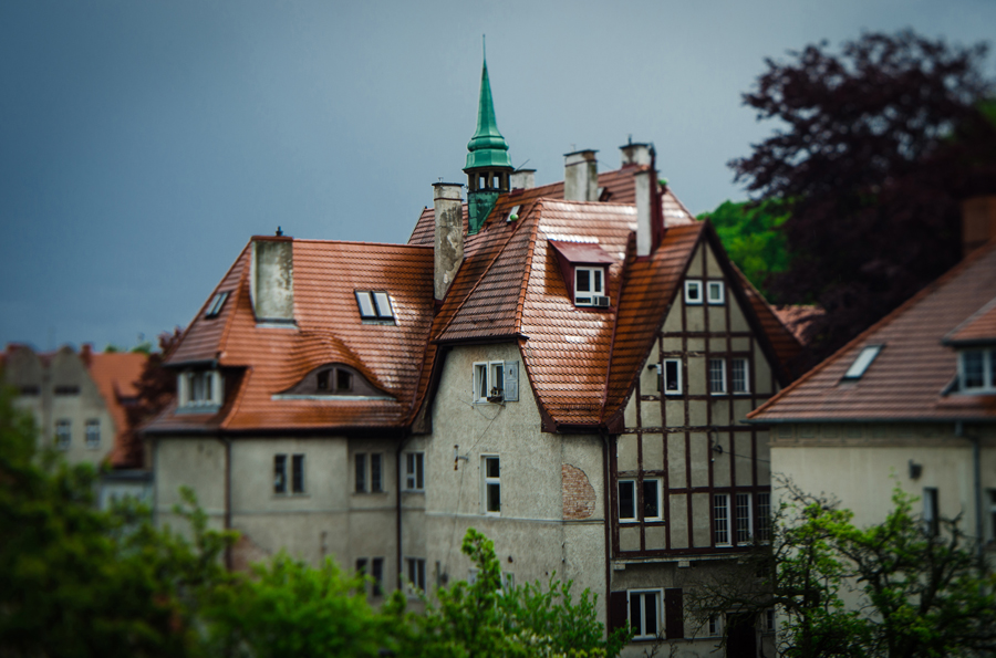 Gdansk Oliwa fotografia